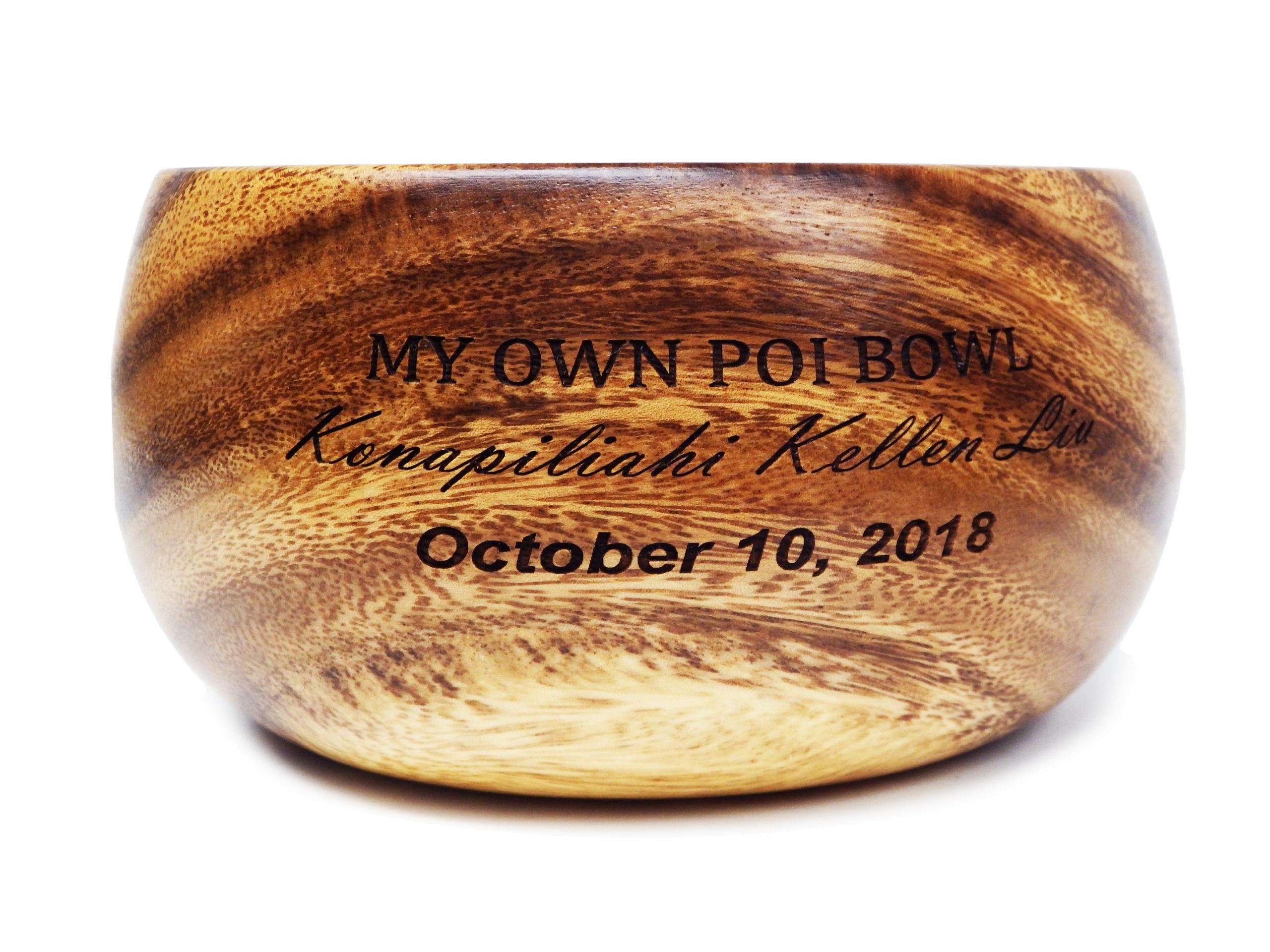 Poi Bowl