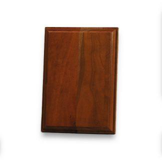 Blank wooden plaque