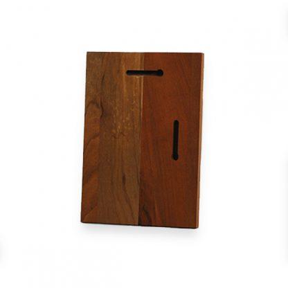 Blank Mahogany wood plaque for honolulu