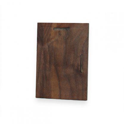 Blank rosewood wooden plaque in hawaii